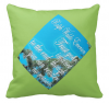 """Trust Your Instinct"" Throw Pillow"