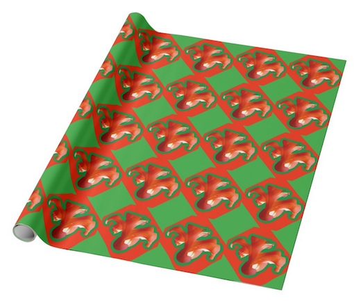 """Nature's Gift"" Glossy Wrapping Paper"