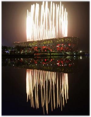 Olympic opening ceremonies, Beijing, 2008