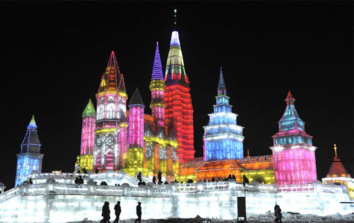 Harbin, China: the 25th Harbin International Ice and Snow Festival