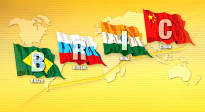 BRIC nations: Brazil, Russia, India and China