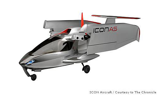 ICON A5, a plane developed by Stanford engineers