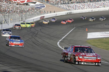 NASCAR Sprint Cup series UAW-Dodge 400 auto race at Las Vegas Motor Speedway in Las Vegas
