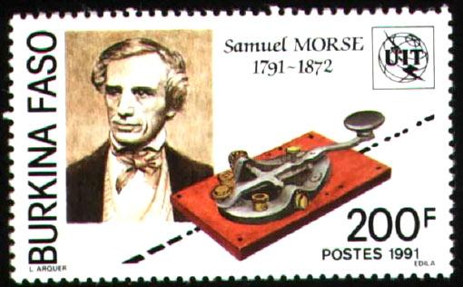 stamp: Samuel F. B. Morse