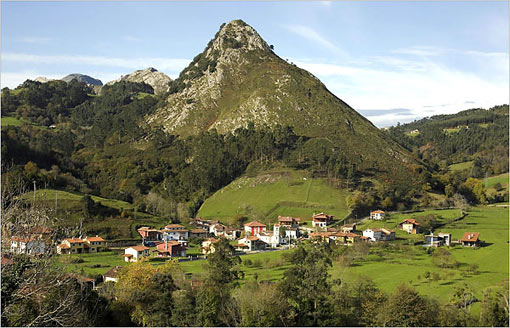 Asturias, a sliver of northern Spain that rests on the Bay of Biscay, calls itself The Land of Cheese. There are thousands of caves hidden in the hills of this rugged region, and for centuries residents have been using them to age cheese
