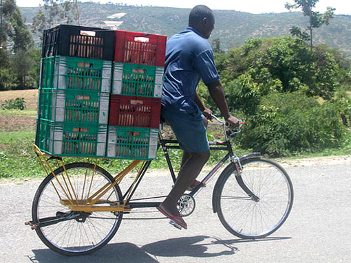 WorldBike's Big Boda load-carrying bicycle