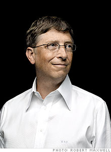 Gates will divide his time among three offices: one at Microsoft, one at his foundation, and another one equidistant from the other two