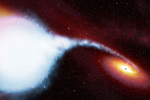 the Cygnus X-1 binary star system contains one of the best candidates for a black hole