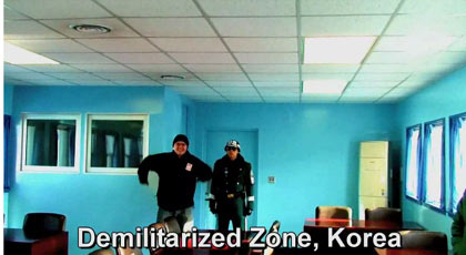 dancing in Demilitarized Zone, Korea