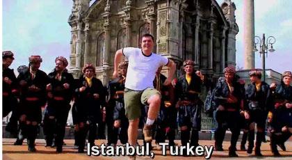 dancing in Istanbul, Turkey