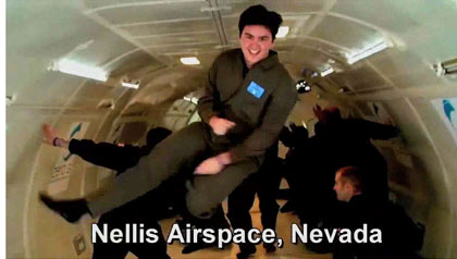 dancing at Nellis Airspace, Nevada, United States