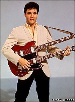 Elvis released his first single in 1955 and scored his first chart-topper with Heartbreak Hotel the following year. He went on to sell almost 120 million records in the US alone