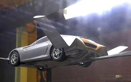 Autovolantor by Moller International: the flying car, supposedly based on a Ferrari, could one day ferry commuters to work