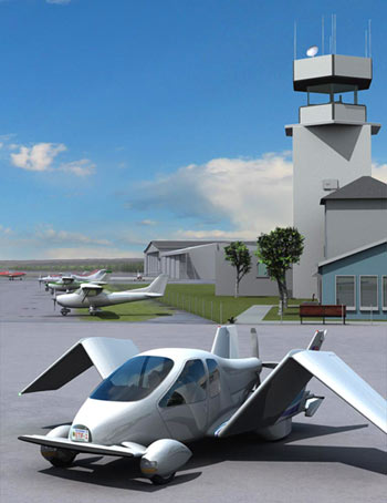 Terrafugia, Inc.'s Transition Roadable Aircraft