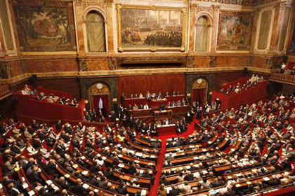France's National Assembly and Parliament gather in Versailles, western Paris