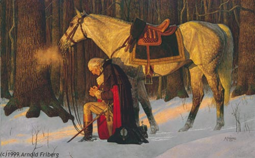 The Prayer of George Washington at Valley Forge