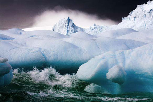 Sebastian Copeland: Stormy Weather. Series: Antarctica: The Global Warning Melchior Islands, Antarctica, 2006