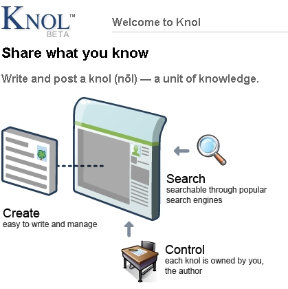 Google makes its Wikipedia competitor Knol open for general use