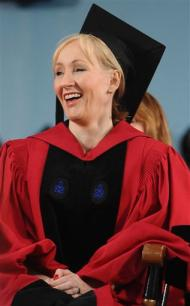 'Harry Potter' Author J.K. Rowling receives honorary degree at Harvard University Commencement 2008