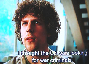 I thought the UN was looking for war criminals