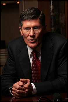 John A. Thain, chief executive of Merrill Lynch. The company decided to sell itself to Bank of America after billions in losses