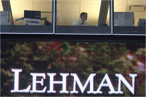 Lehman Brothers filed for Chapter 11 bankruptcy early Monday morning, which contributed to a dark day on Wall Street and in many major markets
