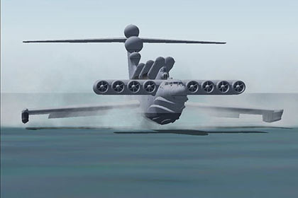 AlphaSim has released the LUN Ekranoplan, 'Caspian Sea Monster'
