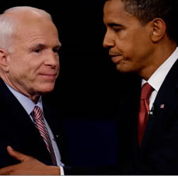 both Obama and McCain's speeches call for unity