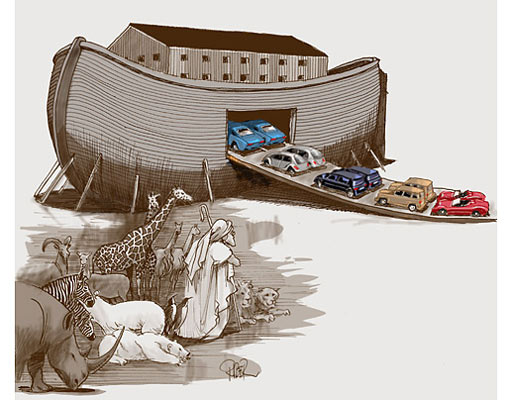 Noah's Ark: Recession Edition