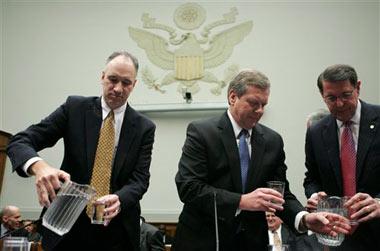 ConocoPhillips EVP John Lowe, BP America Chairman & President Robert Malone, and Exxon Mobil SVP J. Stephen Simon