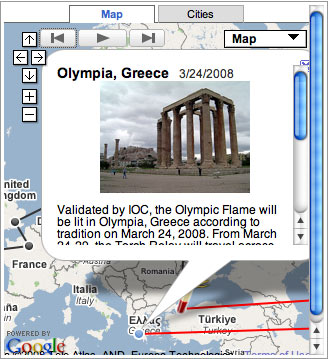 Olympic Torch Ignited in Olympia Greece