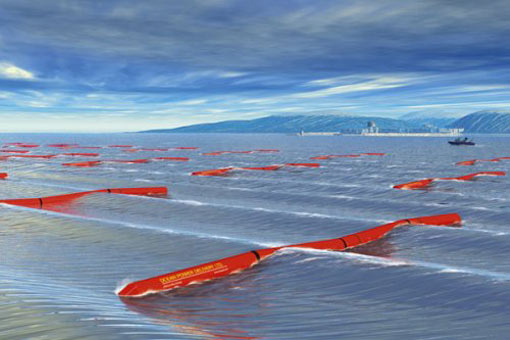 Pelamis Wave Farm - world's most ambitious, working wave farm for generating electricity