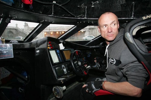 Team Earthrace is led by New Zealand Skipper Pete Bethune