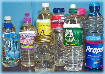 In 2006, Americans drank about 167 bottles of water each