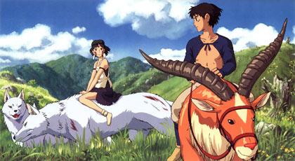 Princess Mononoke, directed by Hayao Miyazaki
