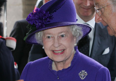 Elizabeth II, The Queen of England