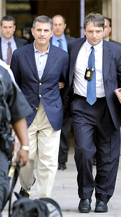 former Bear Stearns hedge fund manager Ralph Cioffis surrendered this morning after being indicted for securities fraud