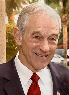 Ron Paul supports reduction of the federal government and immediate of withdrawal of U.S. troops from Iraq
