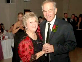 Ron Paul and Carol Paul, his wife of 50 years