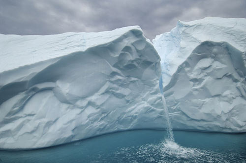 Greenland has lost an average of 150 billion tons of ice a year over the past four summers