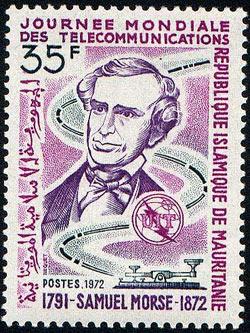 1972 postage stamp: 1791-1872, Samuel F. B. Morse