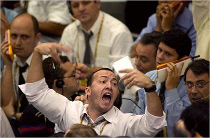 Sao Paulo Stock Exchange headquarters in Sao Paulo, Brazil. Brazilian stocks fell the most since 2001
