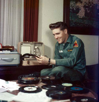 Sgt. Elvis Presley