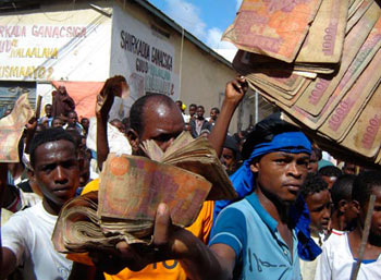Somalia: in Mogadishu, demonstration against record inflation, riots protesting rising food prices