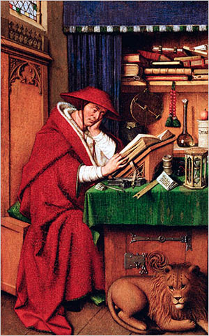 Jan van Eyck's 'St. Jerome in His Study' is among the renowned paintings at the Detroit Institute of Arts