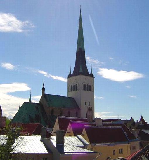 St. Olav, Tallinn, Estonia (522 ft - 159 m)