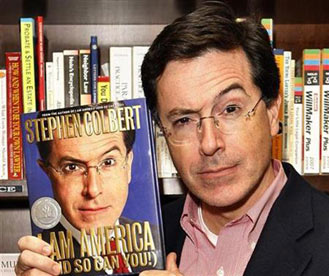 Stephen Colbert wins top honor at 2008 Webby Awards