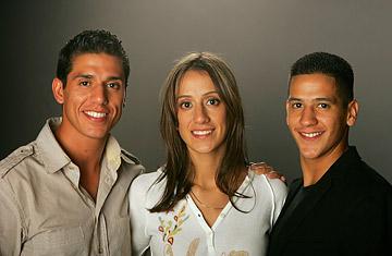 Mark, Diana, and Steven Lopez, United States - Taekwondo