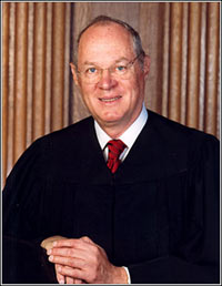 Justice Anthony Kennedy of the Supreme Court
