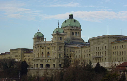 Swiss Government, seated in Bern, capitol of Switzerland